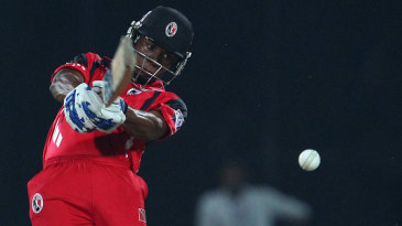 Evin Lewis hits over the top
