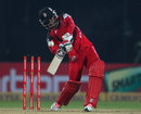 Yannick Ottley struck a 30-ball 41, Trinidad & Tobago v Mumbai Indians, Champions League 2013, 2nd Semi-Final, Delhi, October 5, 2013