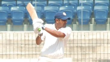 Rakesh Dhurv scored a half-century