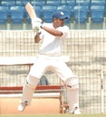 Rakesh Dhurv scored a half-century, South Zone v West Zone, Duleep Trophy quarter-final, Chennai, 4th day, October 6, 2013