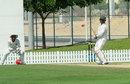 Kenya's No. 10 batsman Hiren Varaiya scored a stubborn 35, Afghanistan v Kenya, ICC Intercontinental Cup, 1st day, Dubai, October 6, 2013