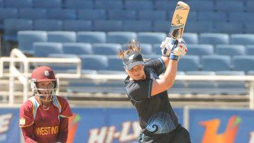 Suzie Bates scored her fifth ODI hundred, hitting 110 off 133 balls