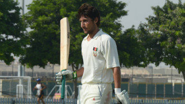 Afghanistan's Rahmat Shah hit 144 to transform the game