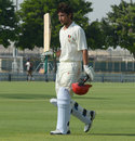 Afghanistan's Rahmat Shah hit 144 to transform the game, Afghanistan v Kenya, ICC Intercontinental Cup, 2nd day, Dubai, October 7, 2013
