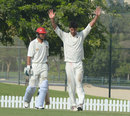 Kenya's Ragheb Aga took five wickets, Afghanistan v Kenya, ICC Intercontinental Cup, 2nd day, Dubai, October 7, 2013