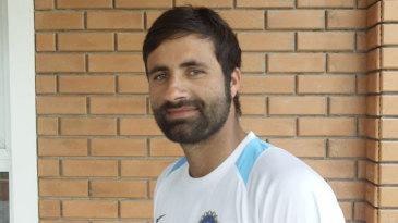 Parvez Rasool is all smiles