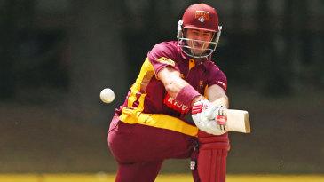 Nathan Reardon struck 92 off 110 balls