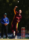 Offspinner Jason Floros took 3 for 37, Queensland v Western Australia, Ryobi One-day Cup, Sydney, October 11, 2013