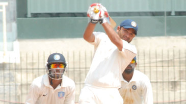 Piyush Chawla lofts one over the top