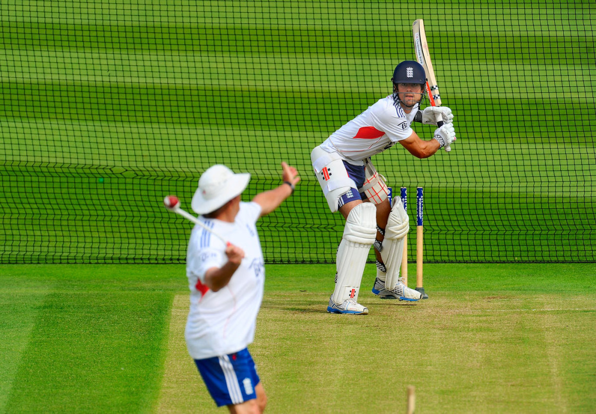 Alastair Cook faces throwdowns from Graham Gooch