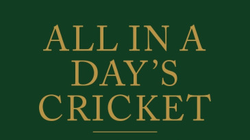 Cover of <i>All in a Day's Cricket</i>