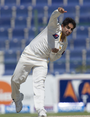 Saeed Ajmal finished with 4 for 74 to limit South Africa's lead to 39