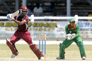 Shimron Hetmyer hit 65 off 97 balls, West Indies Under-19s v Bangladesh Under-19s, Youth ODI Series, Guyana, October 19, 2013