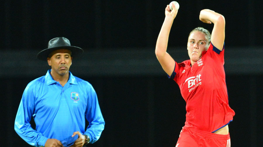 Natalie Sciver took a hat-trick against New Zealand Women