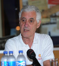 Mike Brearley at the MCC  World Cricket Committee conference, Cape Town, January 10, 2012