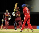 Chinelle Henry was bowled for 12, West Indies v England, West Indies Tri-Nation Series, Barbados, October 24, 2013