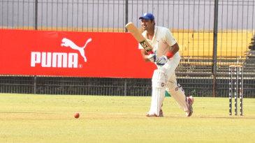 Mohnish Mishra was dismissed for 97 on his comeback game