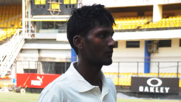 Satyam Choudhary was unbeaten on 127 at stumps