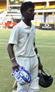 Satyam Choudhary was unbeaten on 127 at stumps, Madhya Pradesh v Railways, 1st day, Group B, Ranji Trophy, October 27, 2013