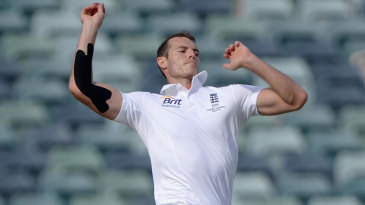 Chris Tremlett took the new ball