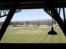 A view of Glenelg Oval, South Australia v Queensland, Sheffield Shield, Adelaide, 3rd day, November 1, 2013