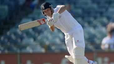 Jonathan Trott eased into the tour with a half-century