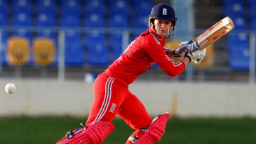 Sarah Taylor attacks the off side