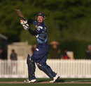 Derek de Boorder top-scored for Otago, scoring 43 off 29 balls, Canterbury v Otago, HRV Cup, Christchurch, November 2, 2013