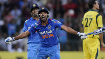 Rohit Sharma became the third batsman to score a double-ton in ODIs