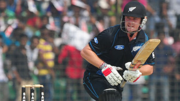 Colin Munro slammed a 77-ball 85, his highest ODI score
