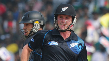 Ross Taylor and Colin Munro added 130 runs for the fourth wicket