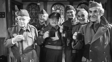 A scene from <i>Dad's Army</i>, 1977