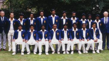 Sri Lanka's squad to England in 1984