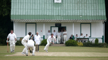 A village cricket match at Linton Park Cricket Club