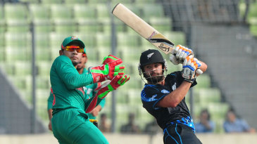 Anton Devcich struck 59 off 31 balls at the start of the New Zealand innings
