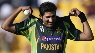 Sohail Tanvir on his way back to his run up