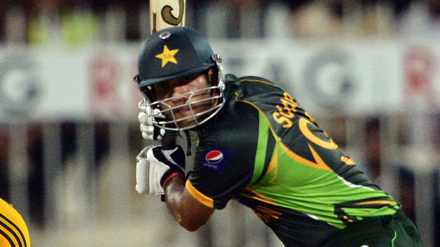 Sohaib Maqsood made his second consecutive ODI fifty