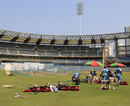 West Indies' nets session at Wankhede Stadium, Mumbai, November 12, 2013