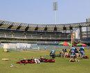 West Indies' nets session at Wankhede Stadium, Mumbai, November 12, 2013