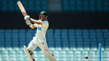Ed Cowan cuts on his way to 51