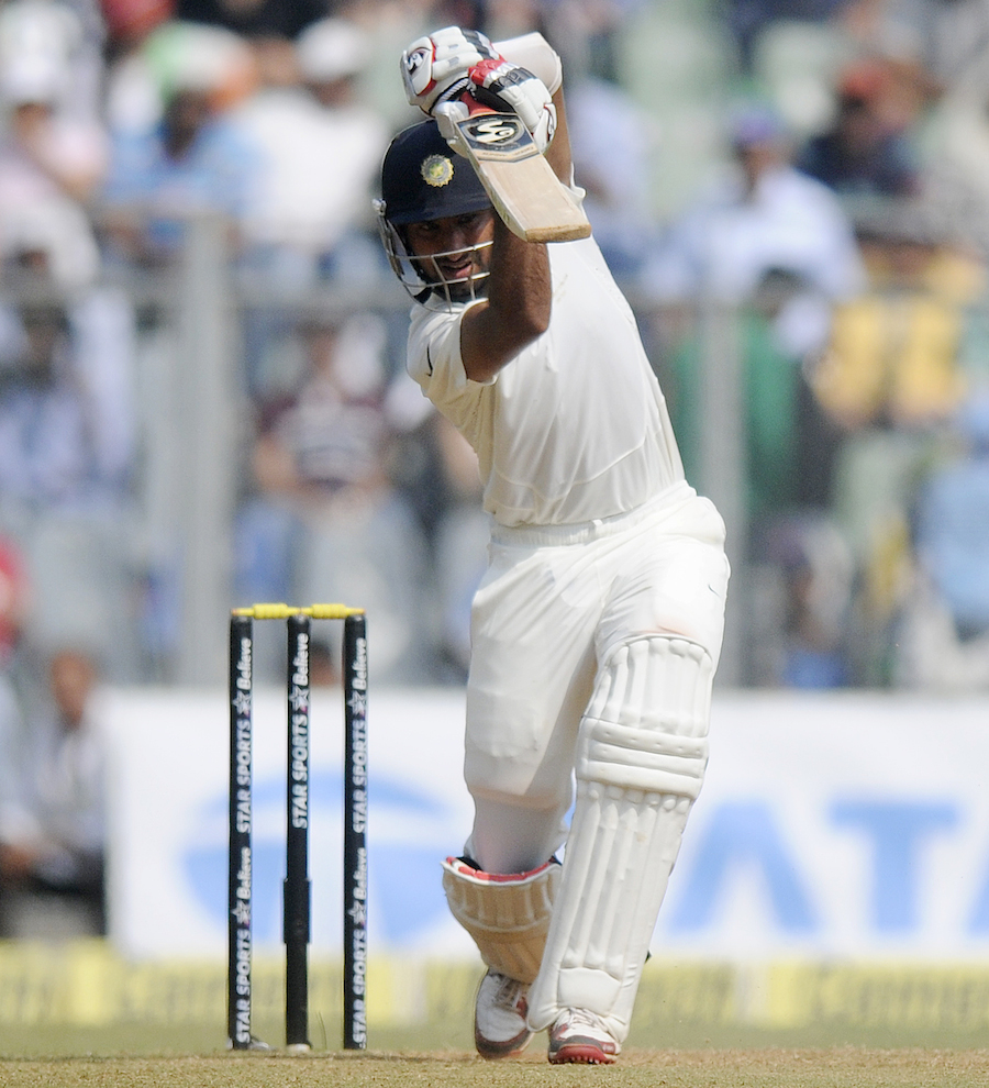 Lucky to be Pujara Today.