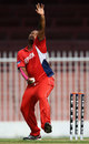 Jacobi Robinson claimed 3 for 8, Bermuda v Scotland, ICC World Twenty20 Qualifier, Sharjah, November 15, 2013