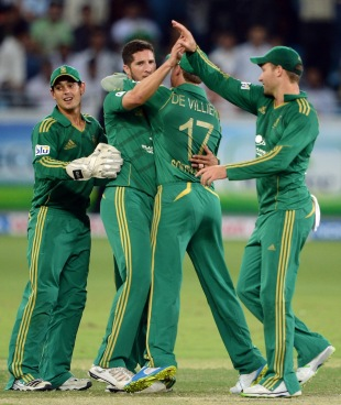 Wayne Parnell's three wickets turned the match South Africa's way