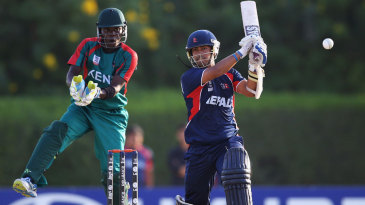 Subash Khakurel scored 54 opening the batting