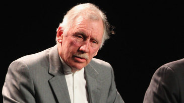 Ian Chappell at the 2015 World Cup launch in Melbourne