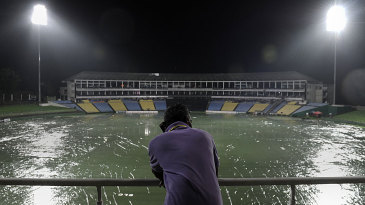 The covers are on in Pallekele