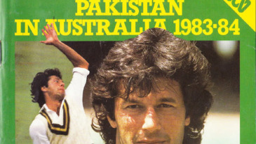 Cover of the <i>ABC Cricket Book</i>, 1983-84