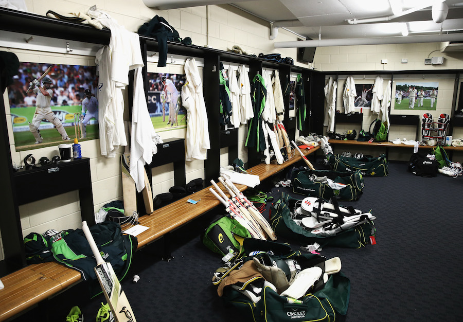 ... view of Australia's dressing room | Cricket Photo | ESPN Cricinfo