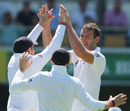 Chris Tremlett picked up his first Test wicket since July 2011, Australia v England, 1st Test, Brisbane, 1st day, November 21, 2013
