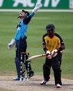 Matthew Cross celebrates the catch to dismiss Chris Amini, Scotland v Papua New Guinea, ICC World Twenty20 Qualifiers, Group B, Dubai, November 21, 2013